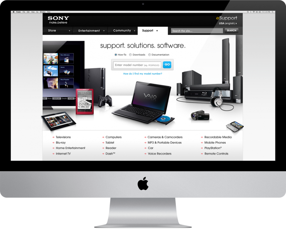 sony_esupport_home_imac
